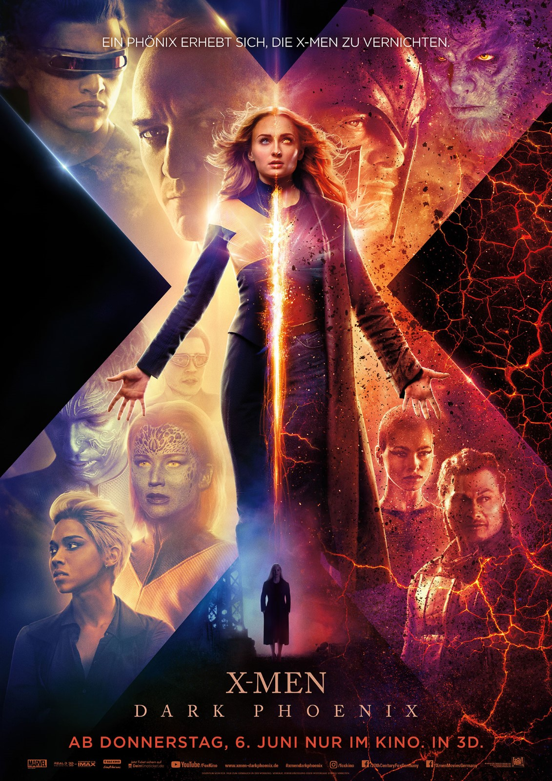 X Men Dark Phoenix Trailer deutsch und Poster
