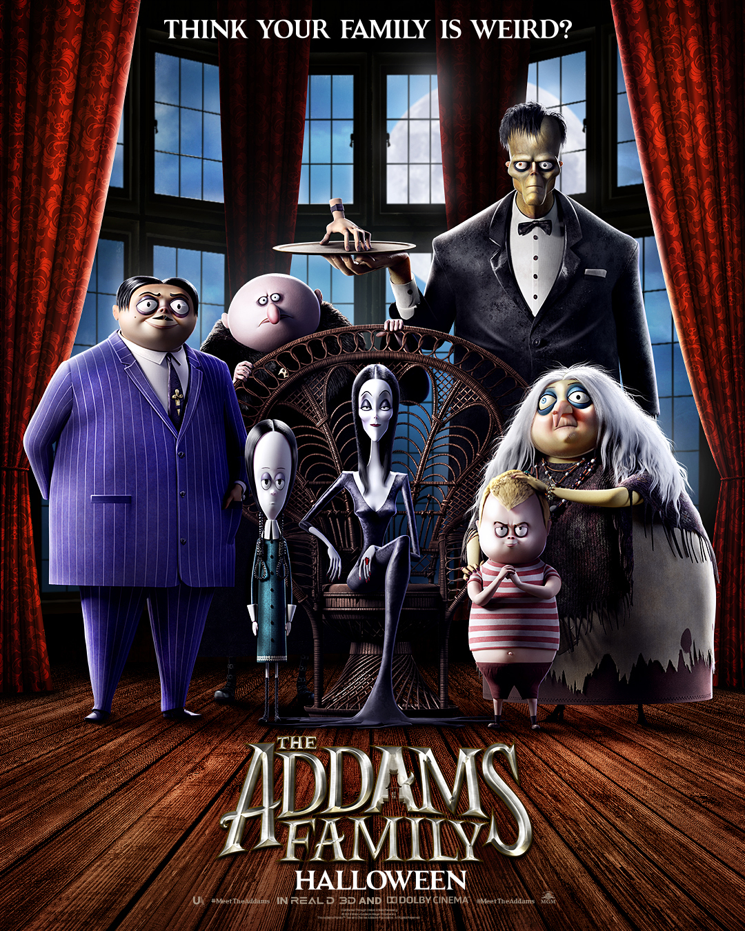 Die Addams Family Teaser Poster