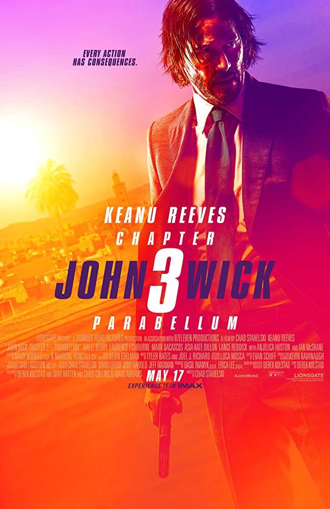 John Wick Kapitel 3 Laufzeit & Poster 1