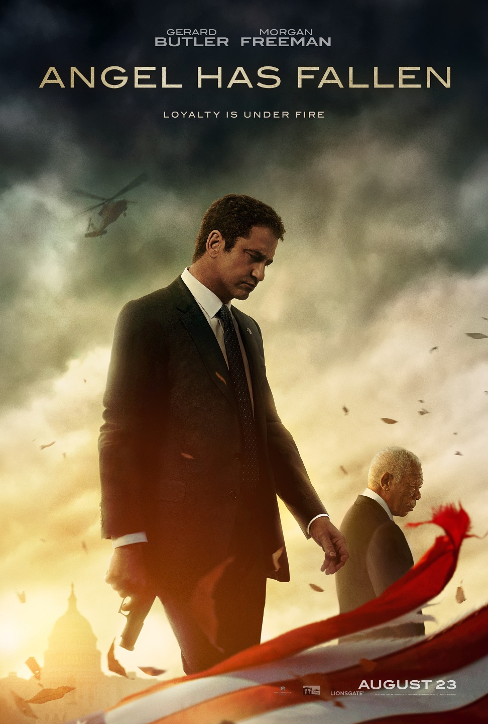 Angel Has Fallen Trailer & Poster