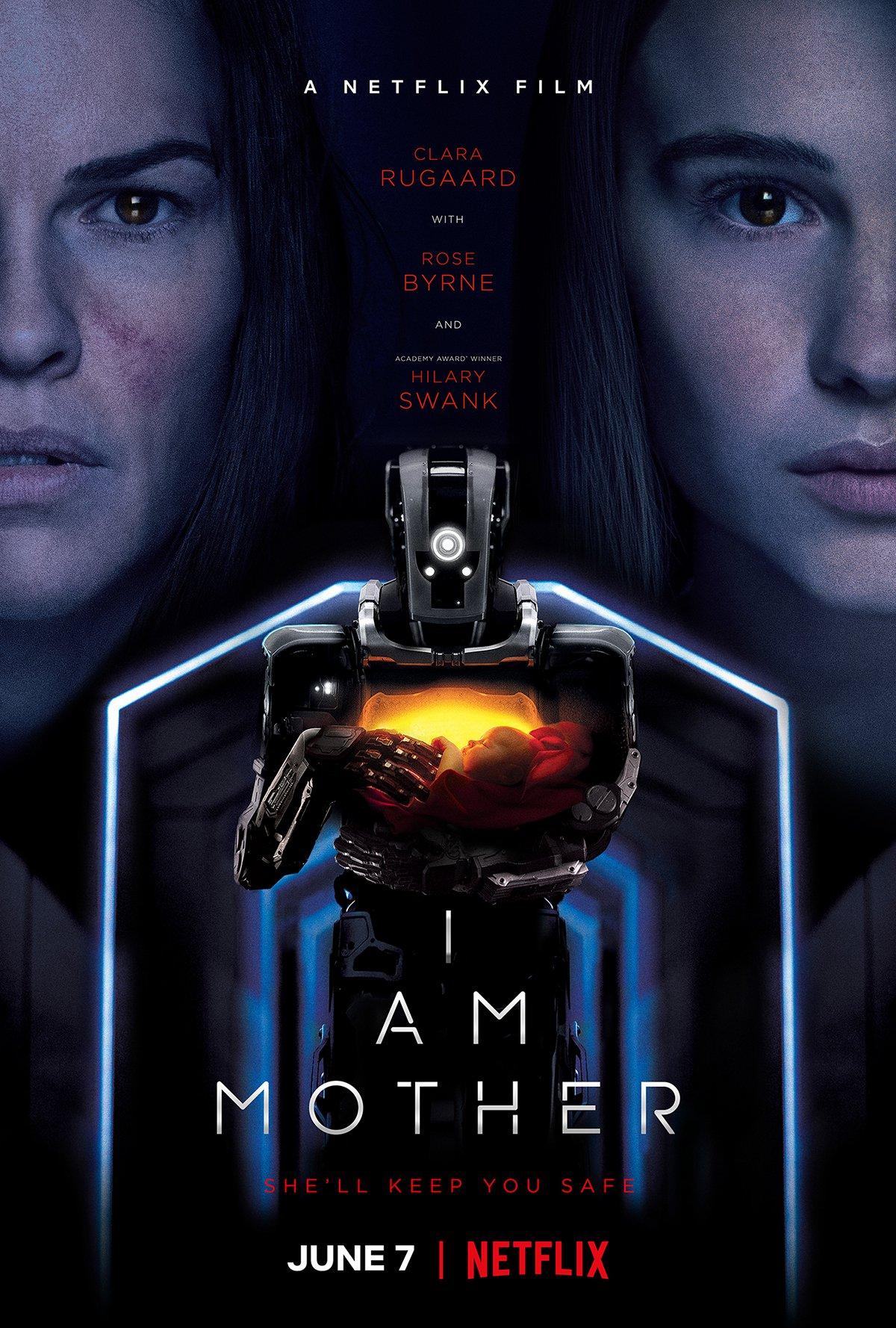 I Am Mother Trailer & Poster
