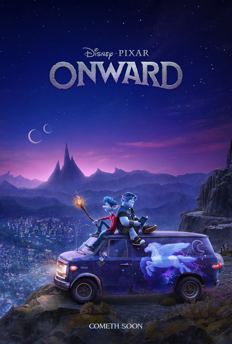 Onward Trailer & Poster