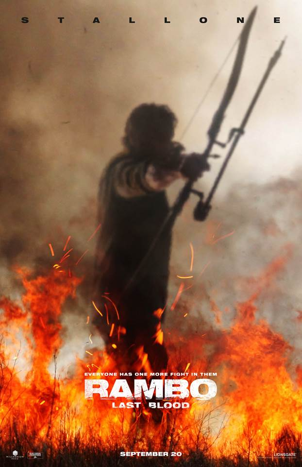 Rambo Last Blood Teaser & Poster