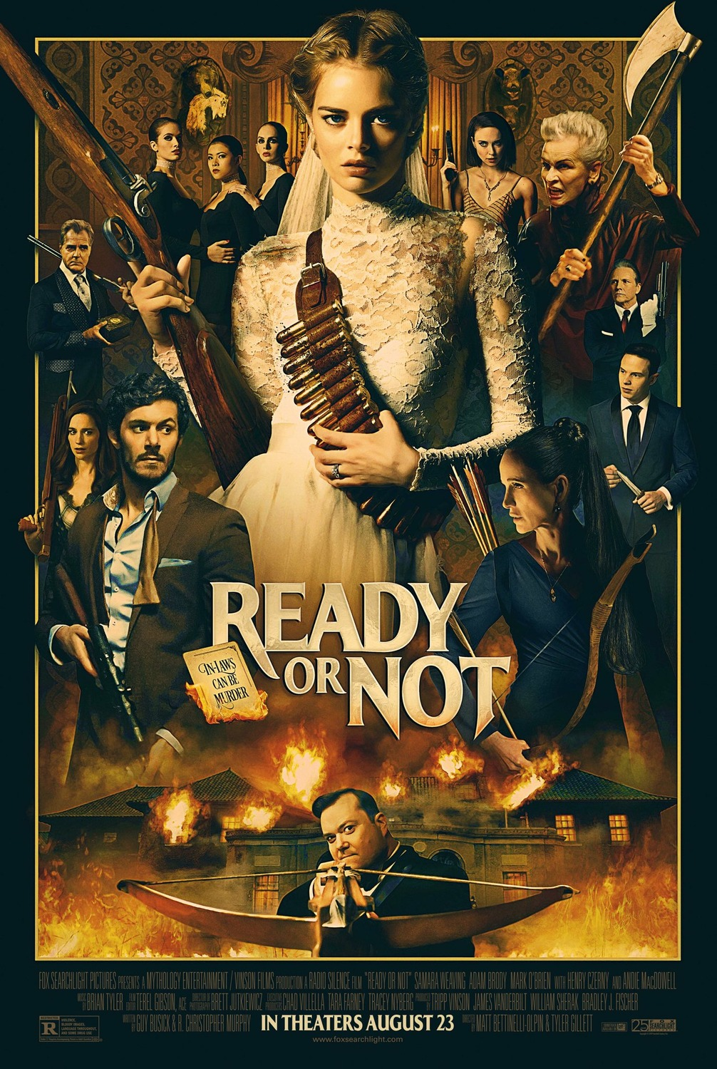 Ready or Not Trailer & Poster
