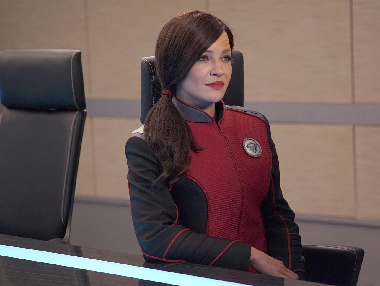 The Orville Staffel 2 Star Jessica Szohr