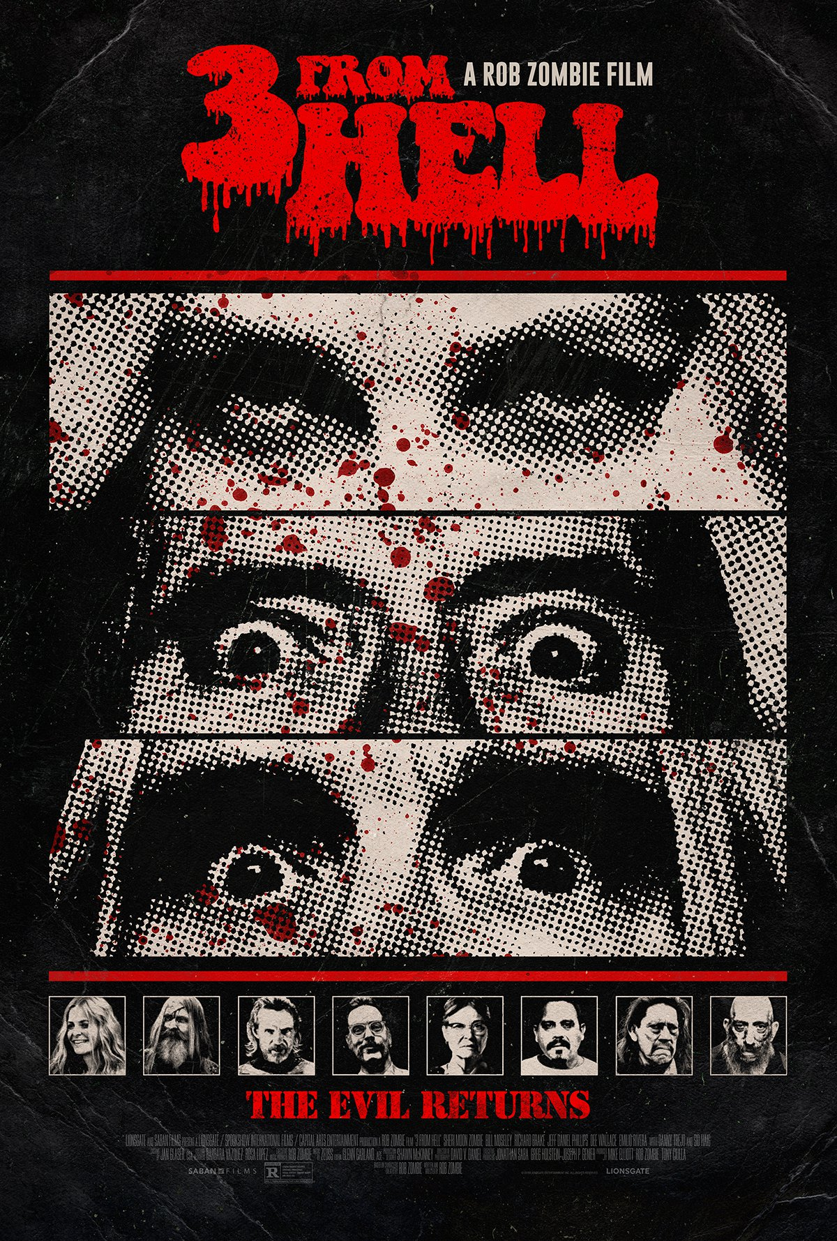 3 From Hell Start & Poster