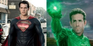 Superman Green Lantern McQuarrie