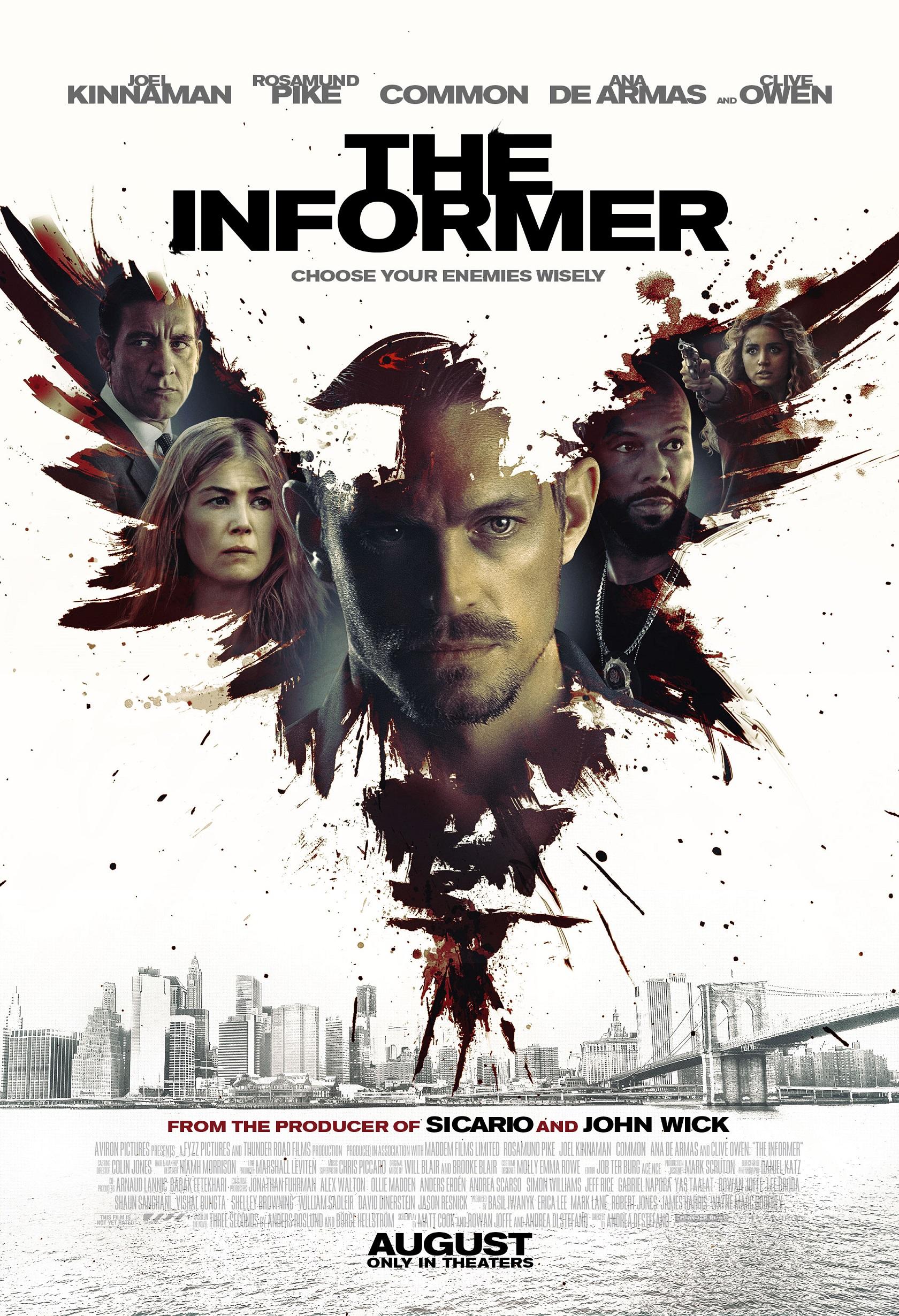 The Informer Trailer & Poster