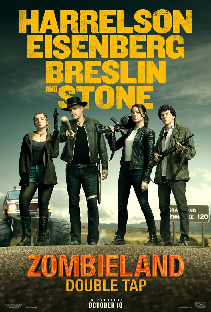 Zombieland 2 Trailer & Poster
