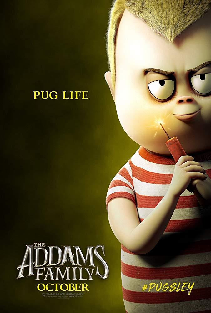 Die Addams Family Trailer & Charakterposter 2