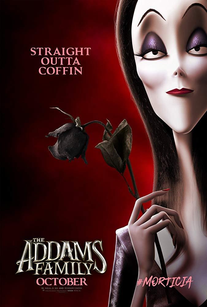 Die Addams Family Trailer & Charakterposter 1
