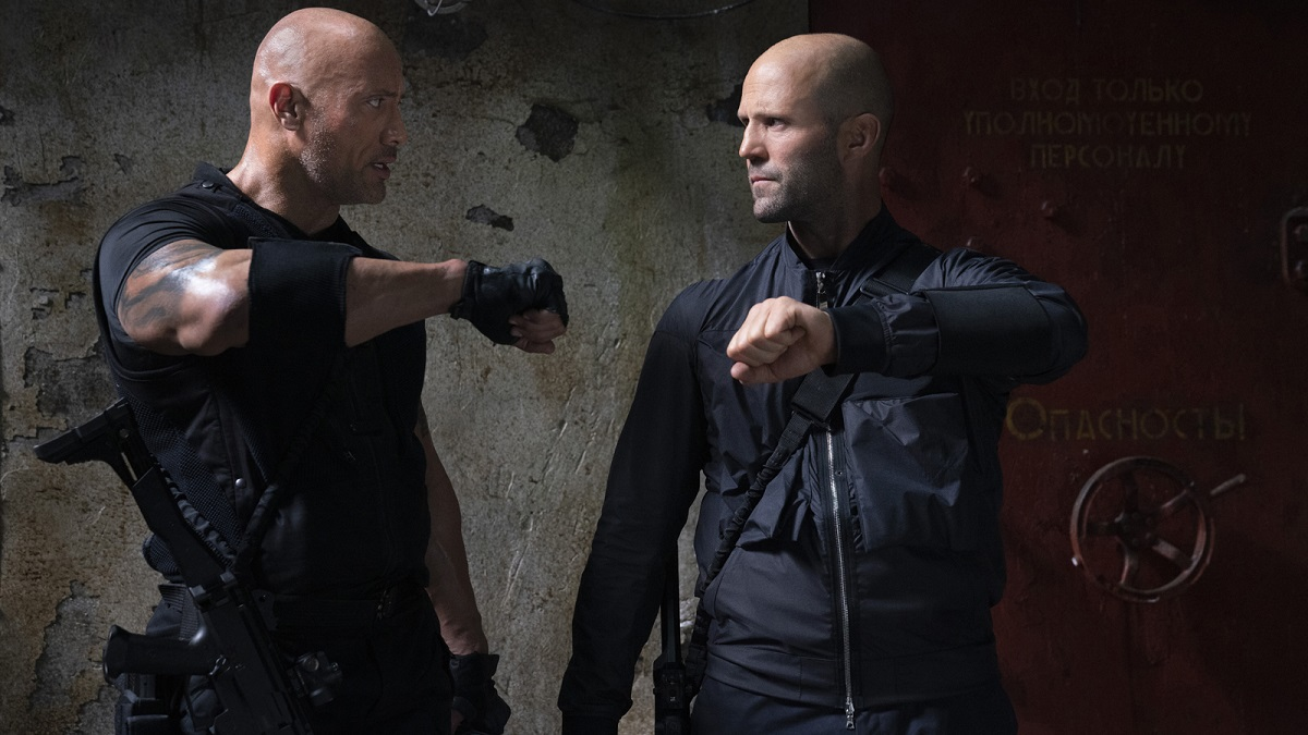 Hobbs and Shaw Jason Statham Interview 2