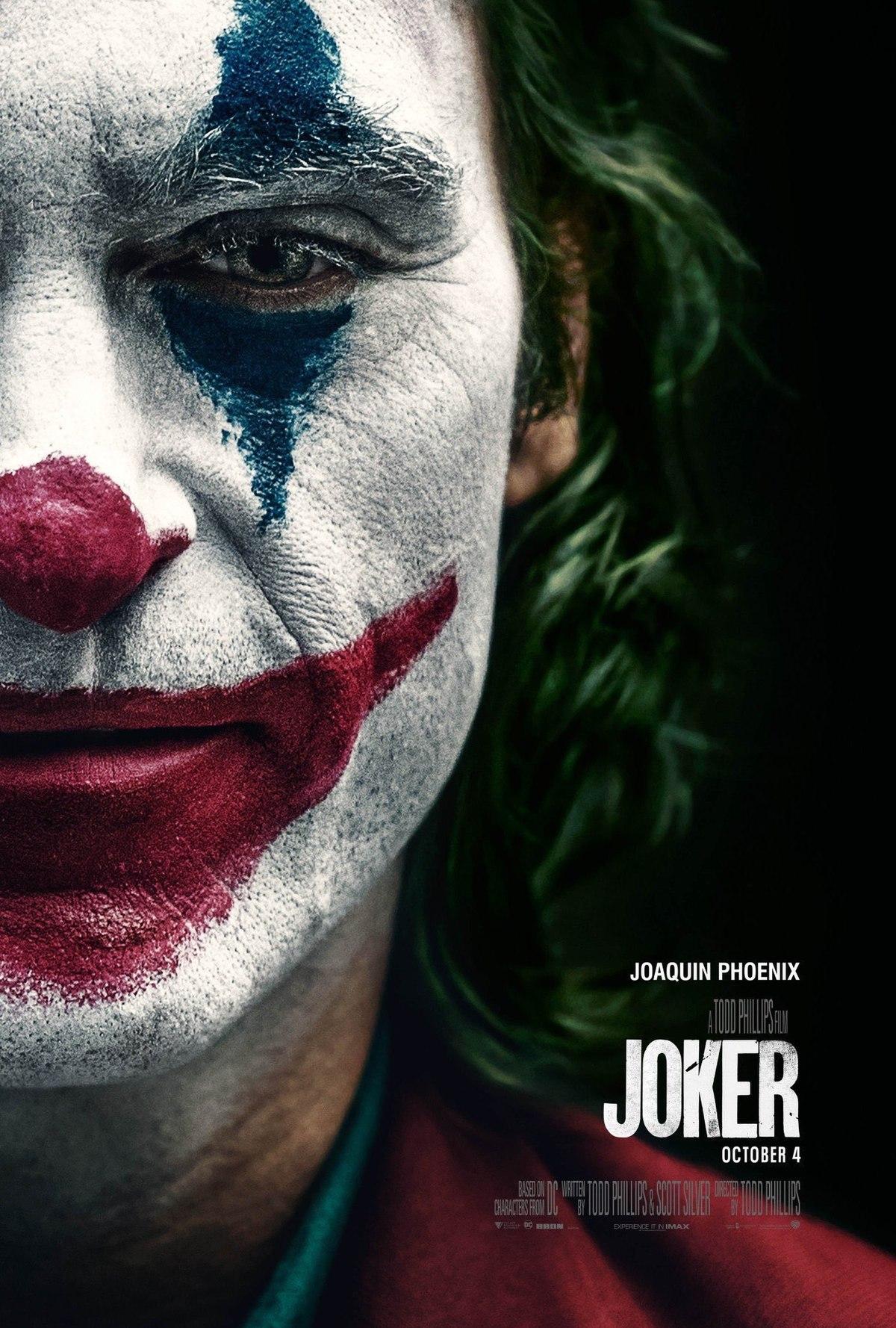 Joker Trailer & Poster 1
