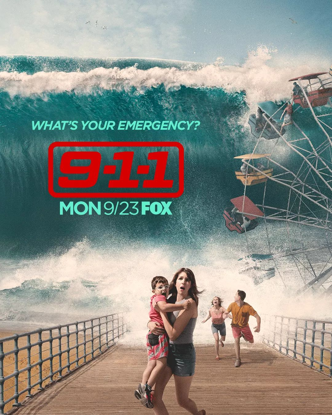 911 Staffel 3 Trailer & Poster