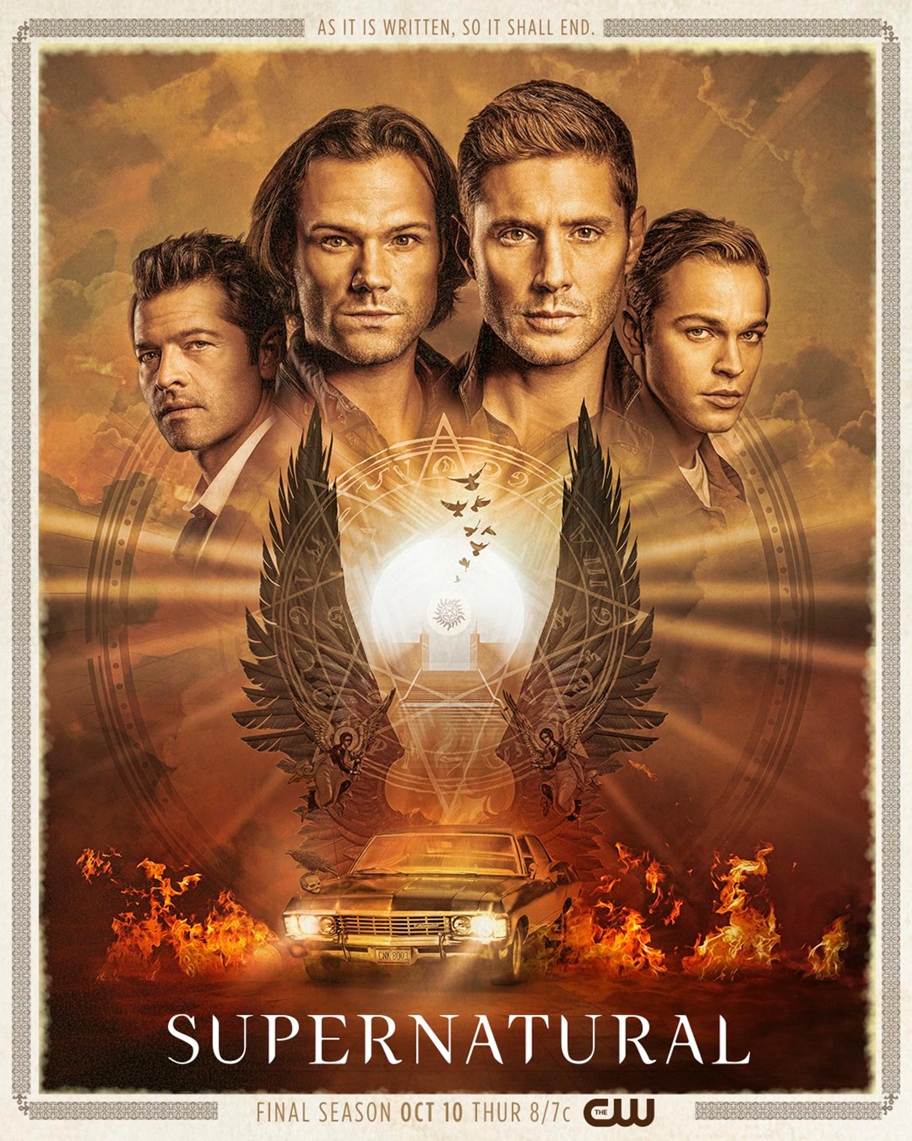 Supernatural Staffel 15 Trailer & Poster