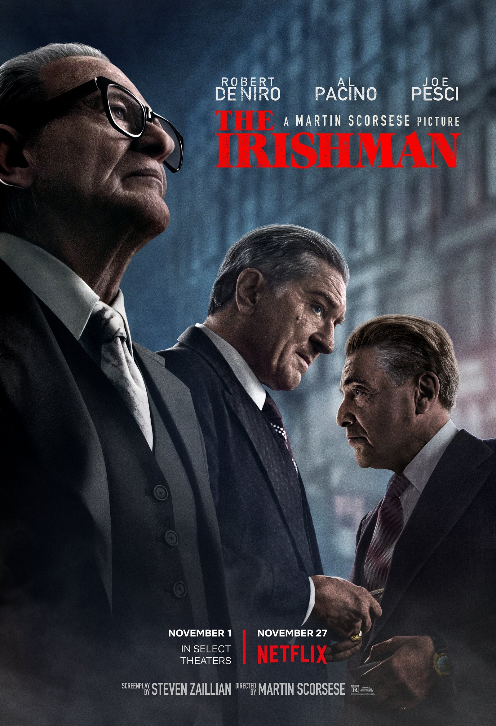 The Irishman Trailer & Poster