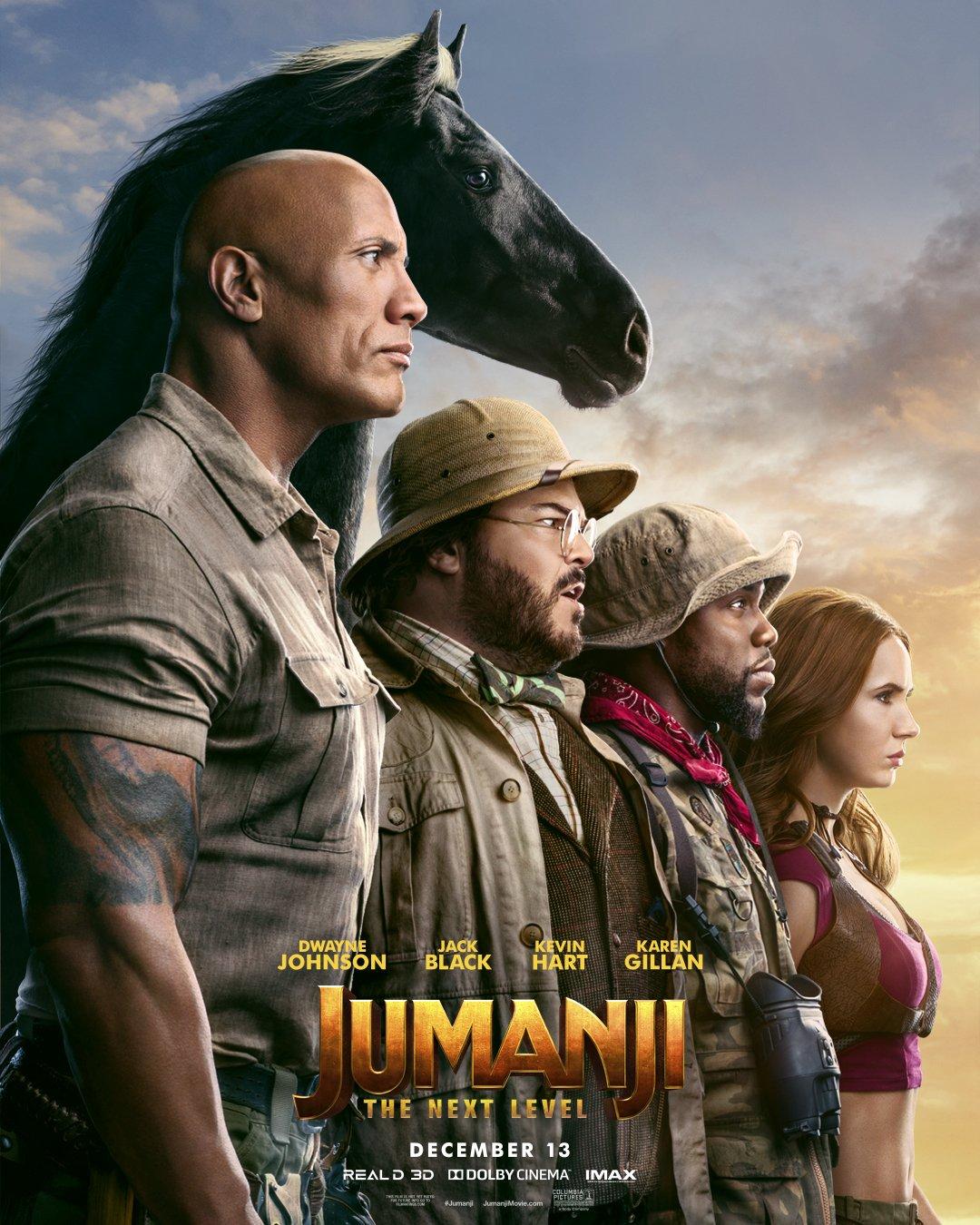 Jumanji The Next Level Trailer 2 & Poster 1