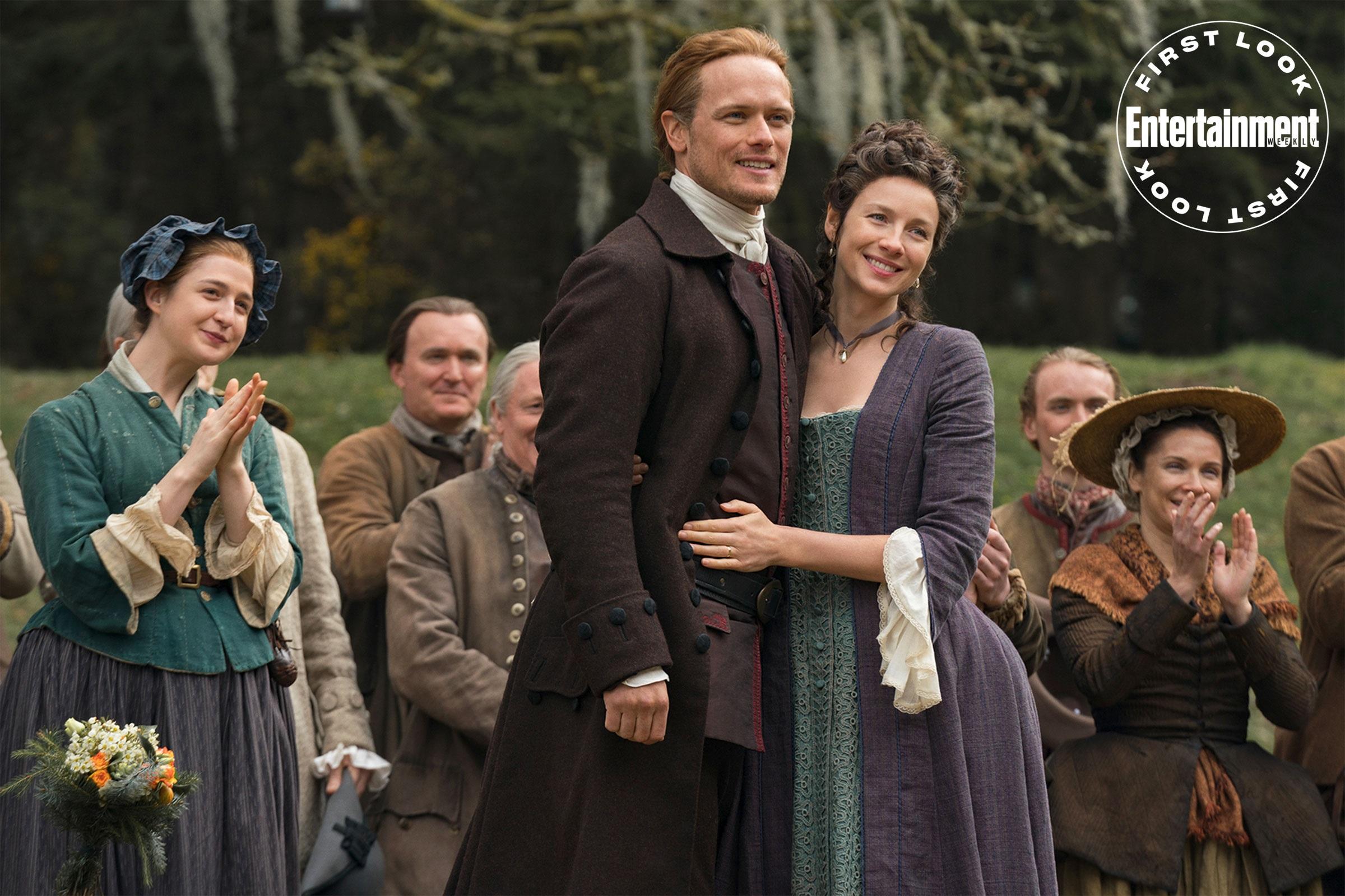 Outlander Staffel 5 Drehende Bild 1