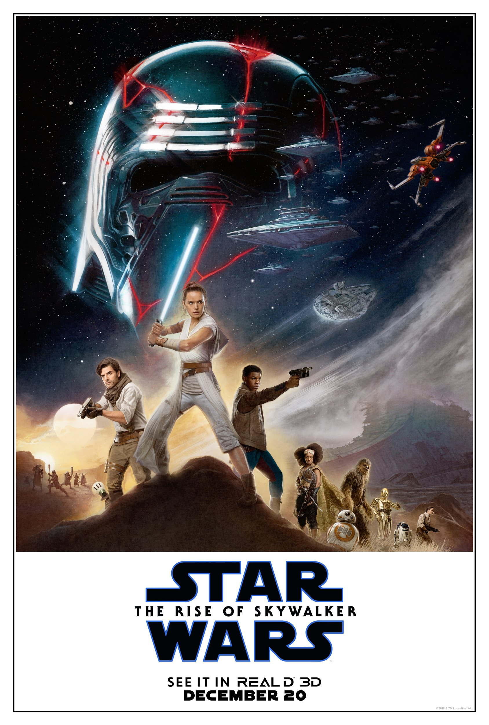 Star Wars Der Aufstieg Skywalkers internationaler Trailer & Poster 2