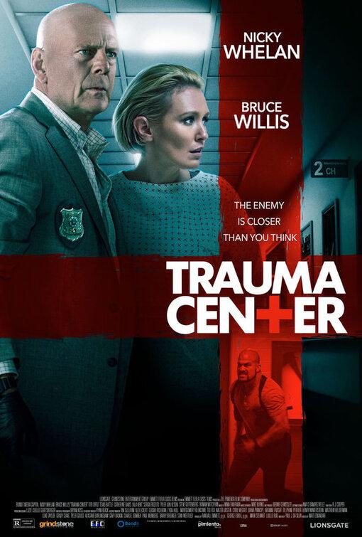 Trauma Center Bruce Willis Poster