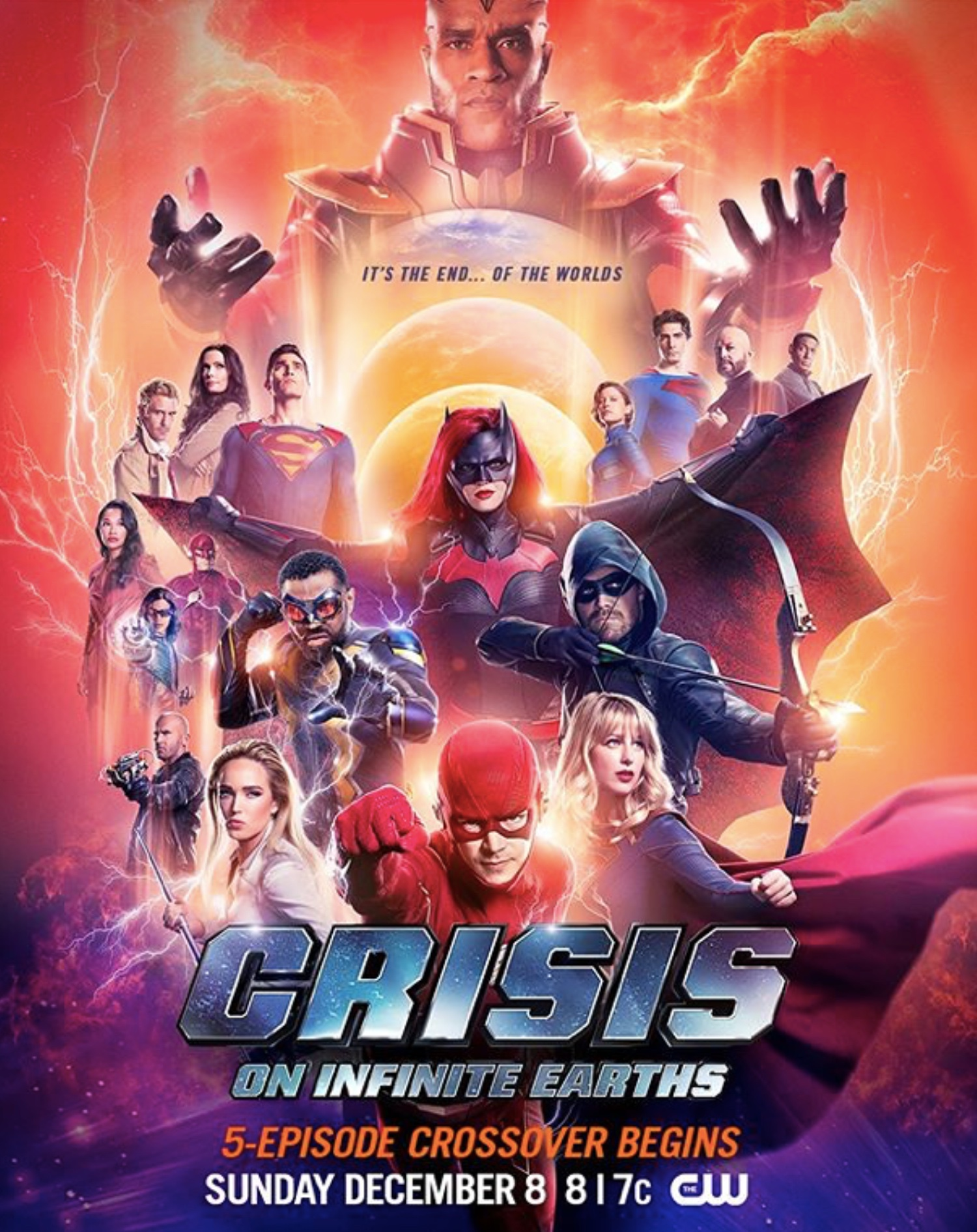 Crisis on Infinite Earths Trailer & Poster