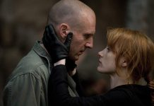 The Forgiven Jessica Chastain Ralph Fiennes