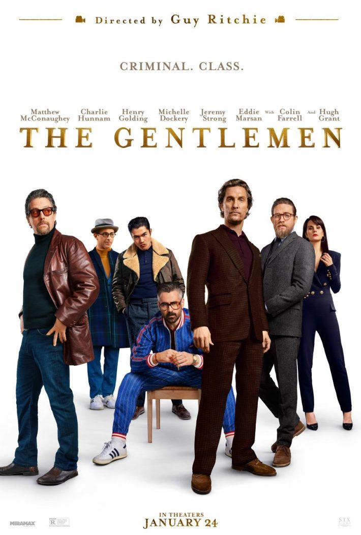 The Gentlemen Guy Ritchie Plakat