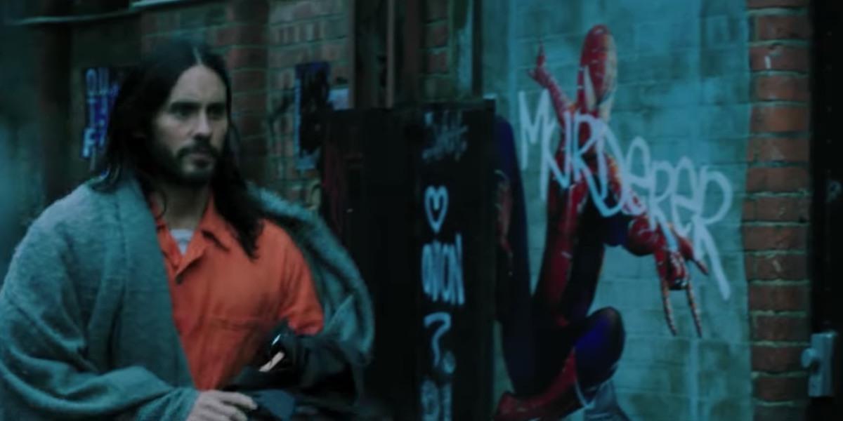 Morbius Teaser Spider Man