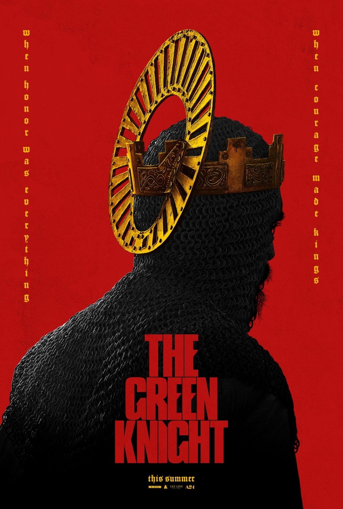 The Green Knight Teaser Poster