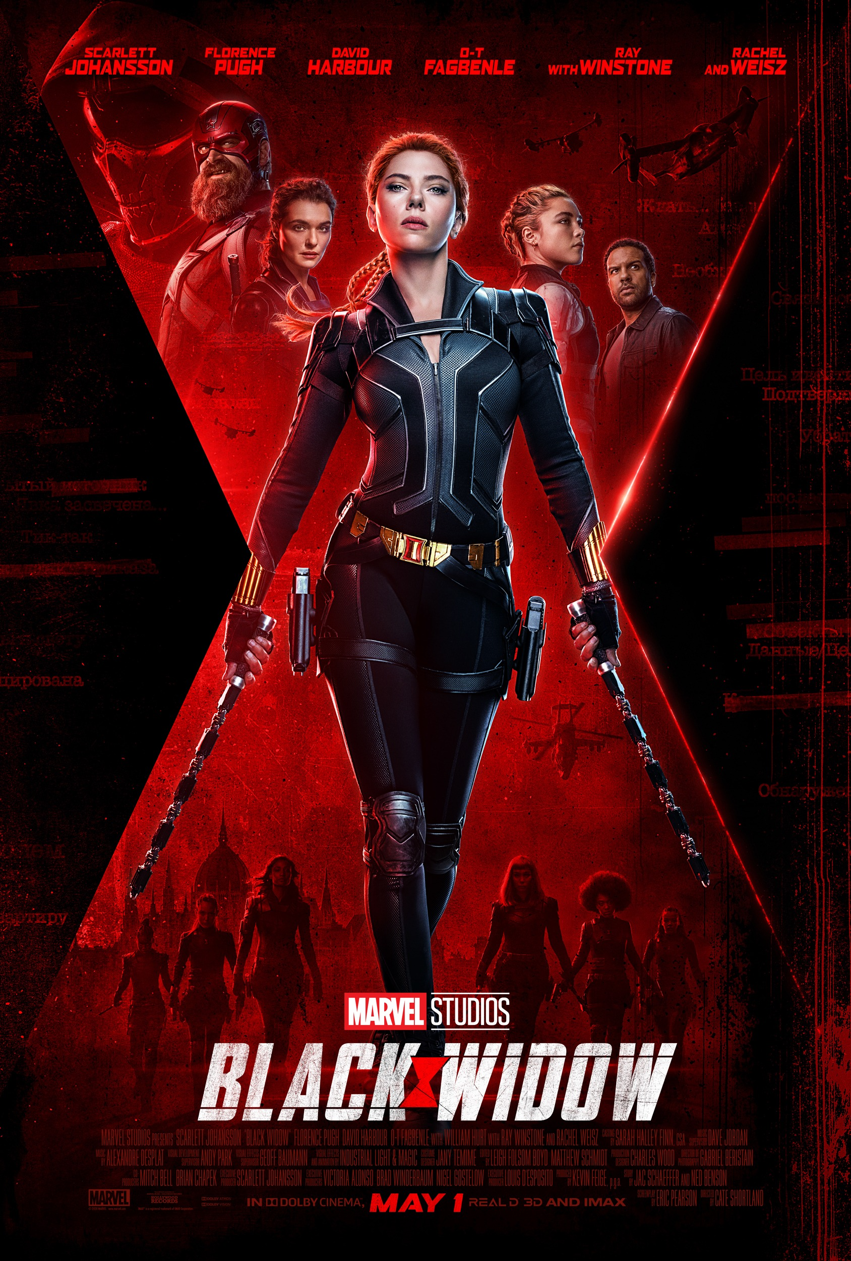 Black Widow Trailer & Poster
