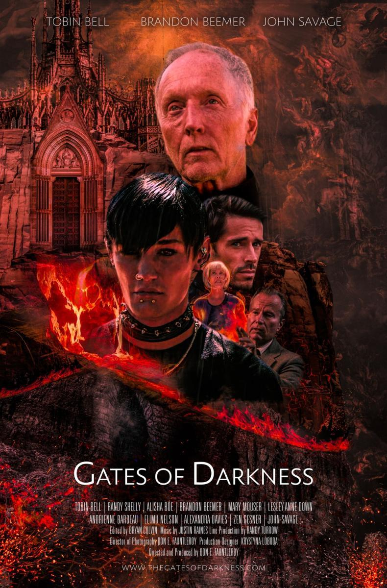 Gates of Darkness Tobin Bell Poster