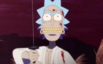 Rick and Morty Samurai