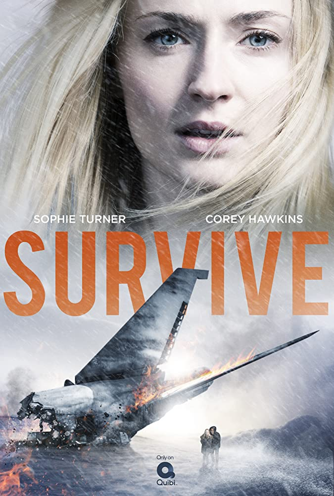 Survive Sophie Turner Poster