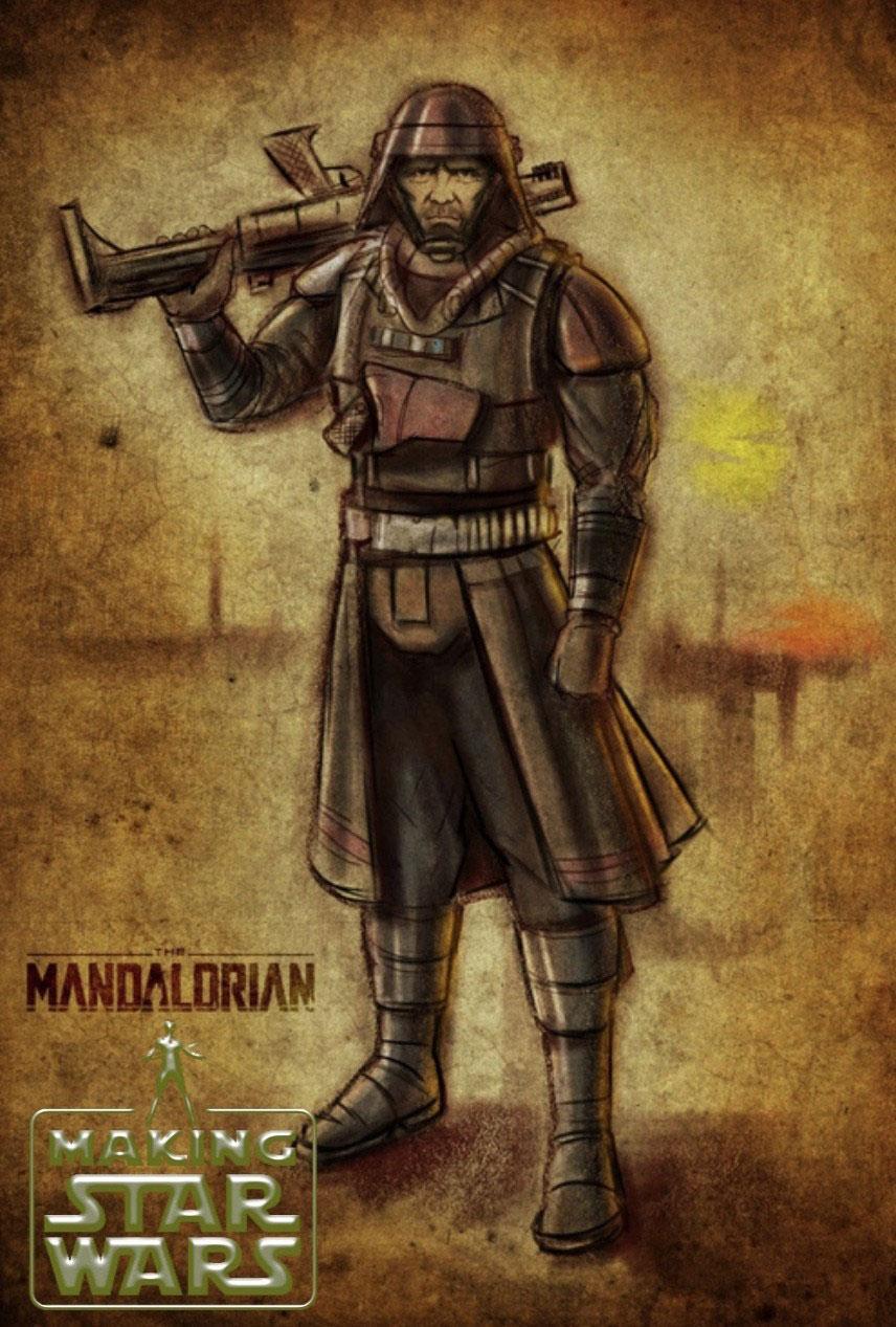 The Mandalorian Staffel 2 Michael Biehn Look
