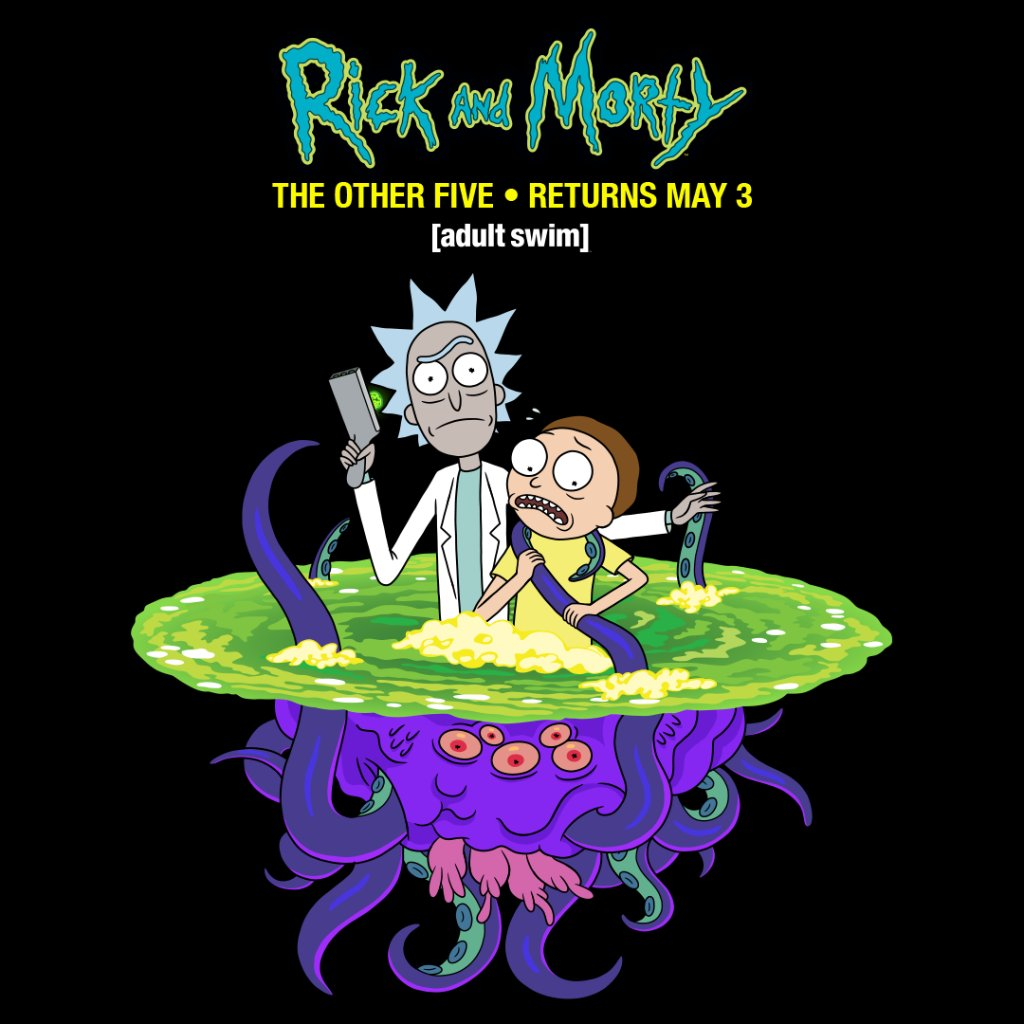 Rick and Morty Staffel 4 Teil 2 Poster