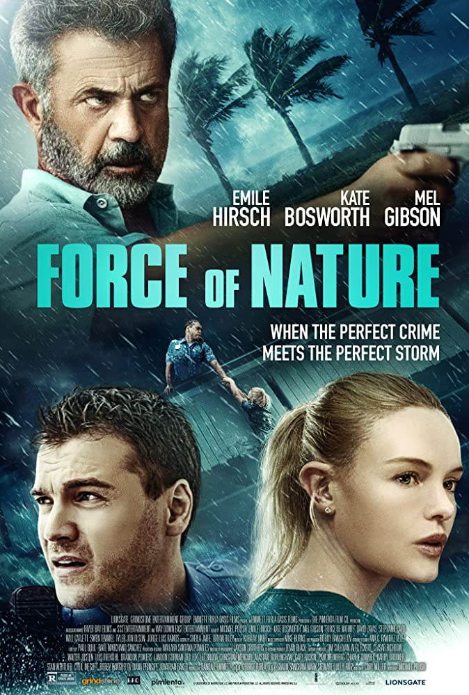 Force of Nature Mel Gibson Poster