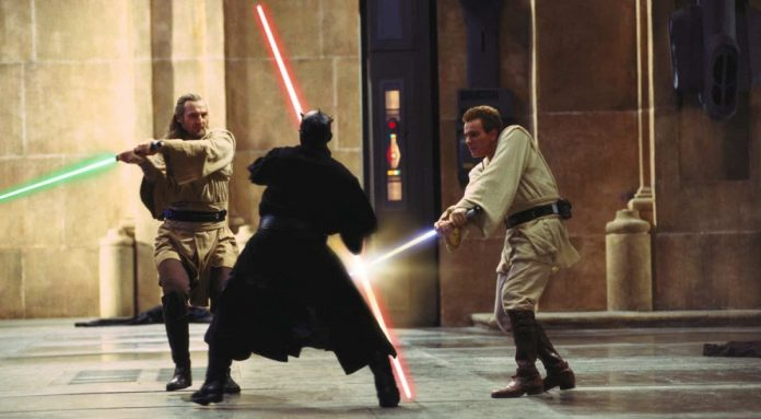 Die dunkle Bedrohung Duel of the Fates