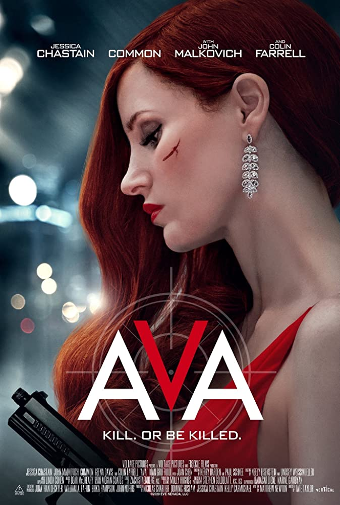 Ava Jessica Chastain Poster