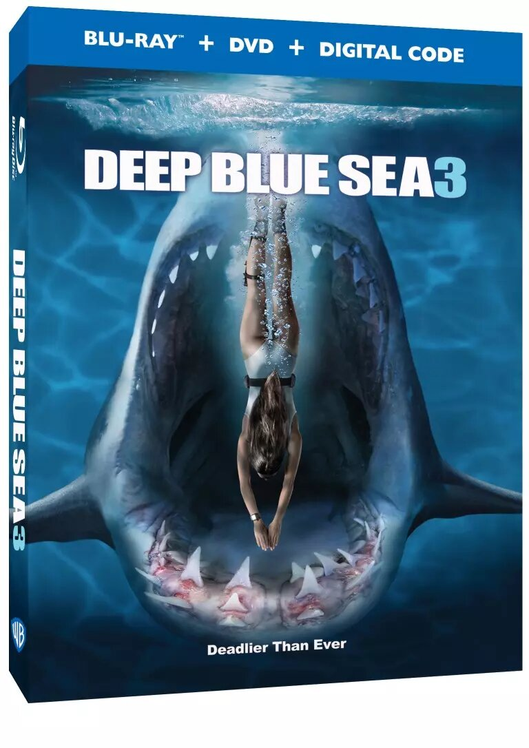 Deep Blue Sea 3 Trailer Blu-ray