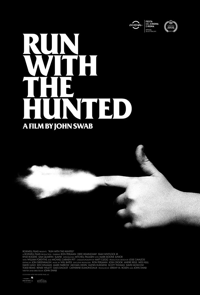 Run with the Hunted Trailer & Poster