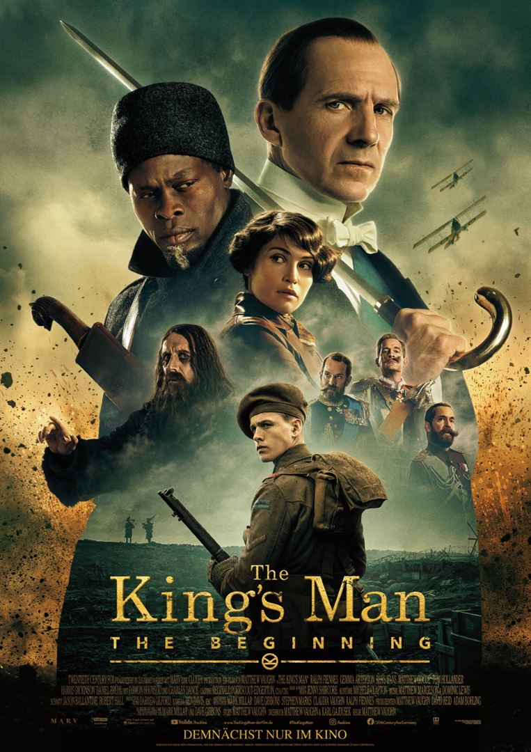 """The Kings Man Trailer & Plakat 2"