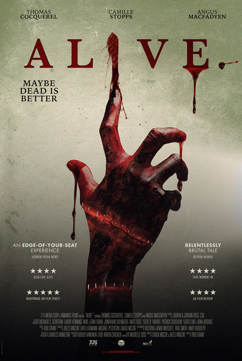 Alive Trailer & Poster