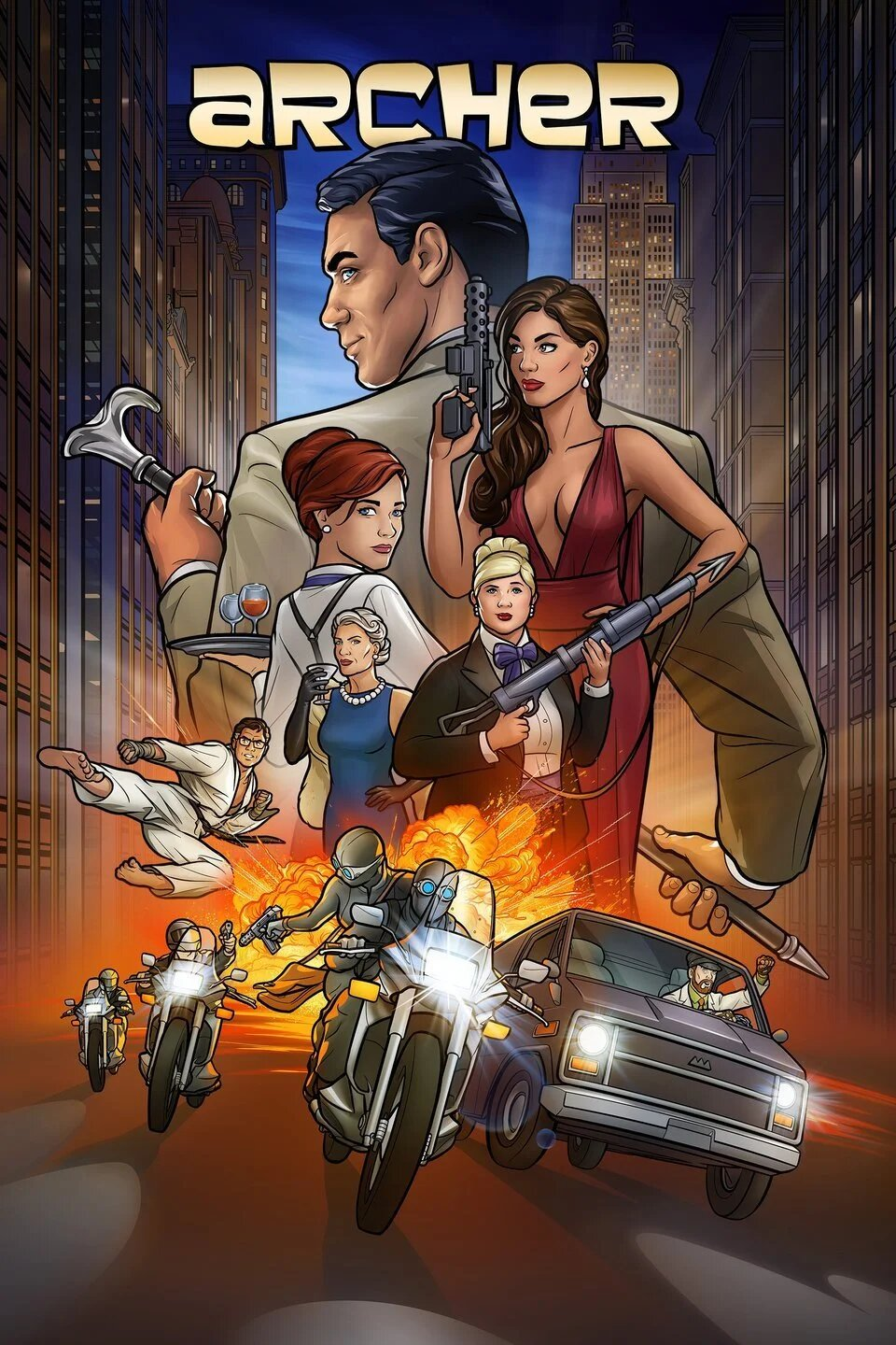 Archer Staffel 10