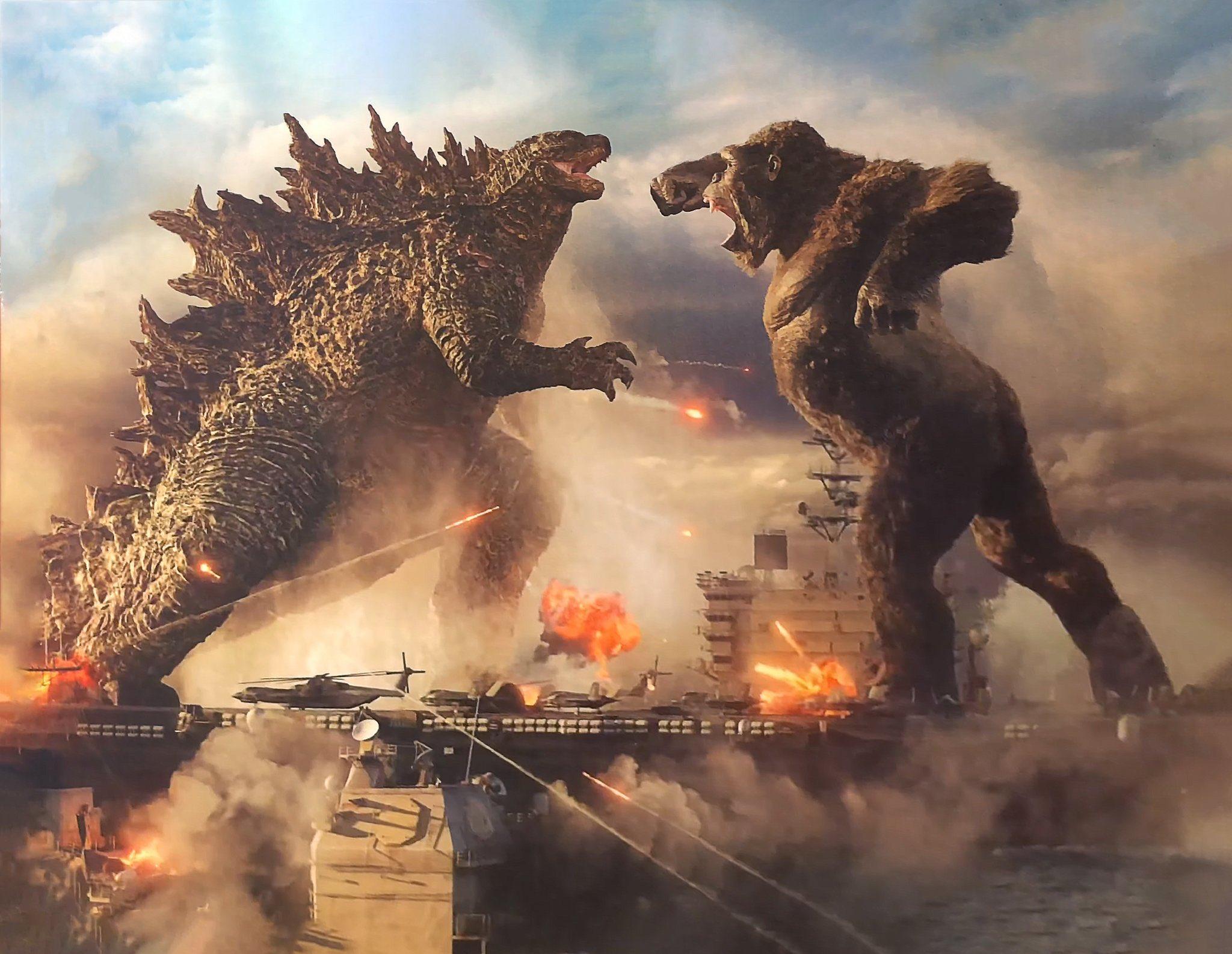 Godzilla vs Kong Bild Promo