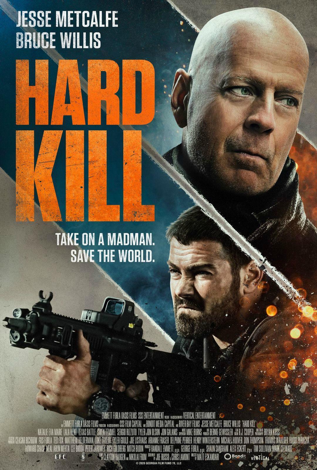 Hard Kill Bruce Willis Poster