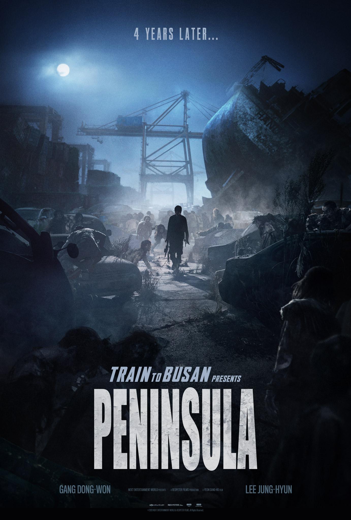 Train to Busan 2 Peninsula Poster