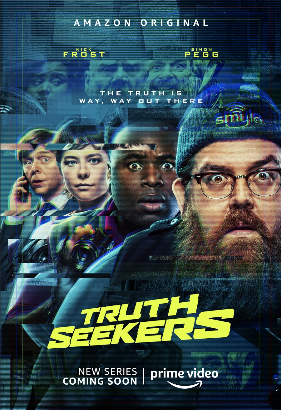 Truth Seekers Pegg Frost Poster
