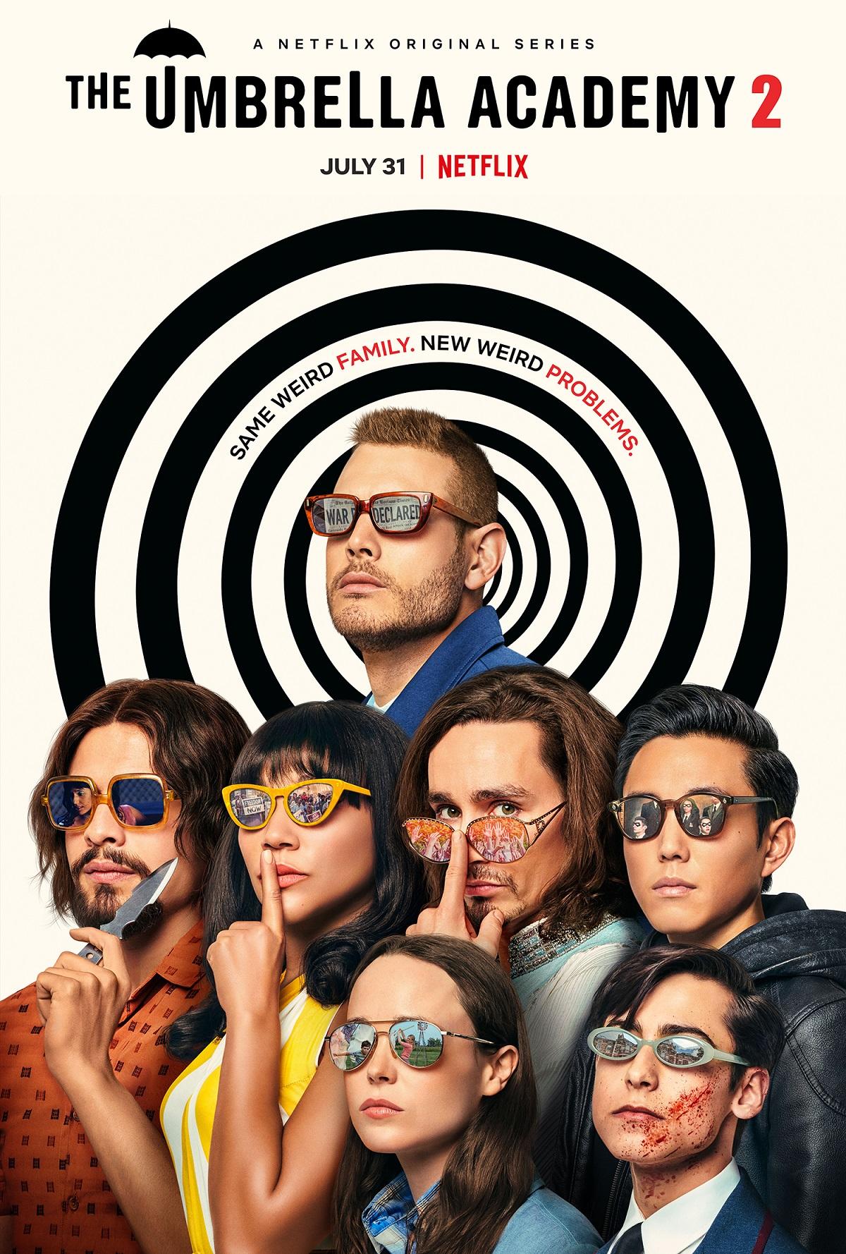 The Umbrella Academy Staffel 2 Trailer & Poster