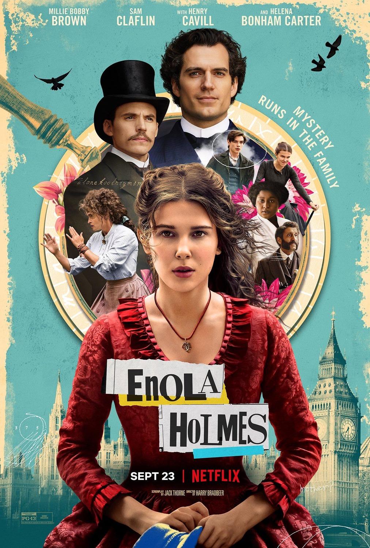 Enola Holmes Trailer & Poster
