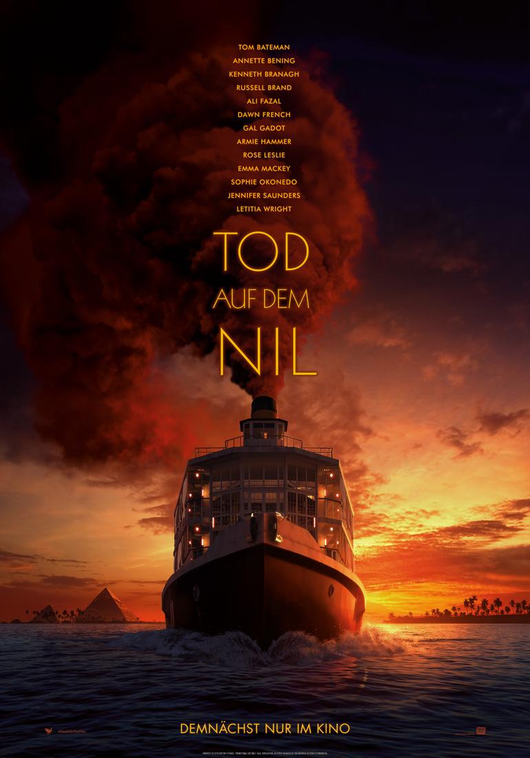 Tod auf dem Nil Trailer & Poster